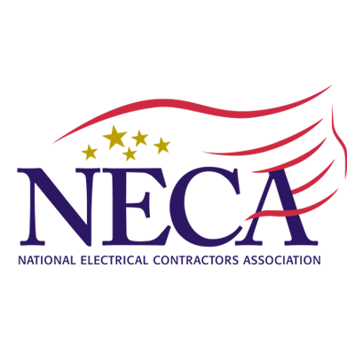 National Electrical Contractors Association (NECA) logo