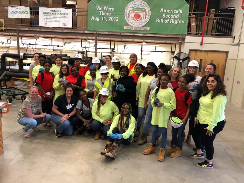Philadelphia Insulators hosts Women in Construction Camp