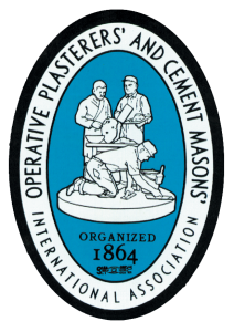 Operative Plasterers and Cement Masons International Association (OPCMIA) logo