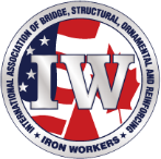 International Association of Bridge, Structural, Ornamental and Reinforcing Ironworkers (IW) logo